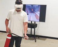 entrenamiento virtual con extintor